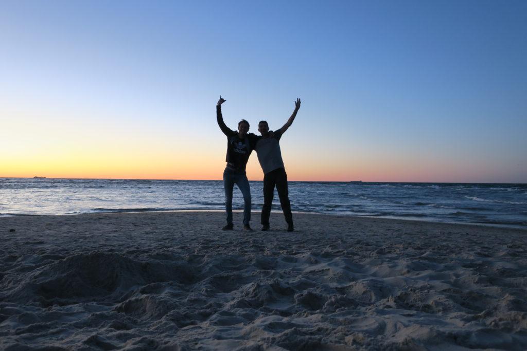 La pointe de Grenen Nord du Danemark