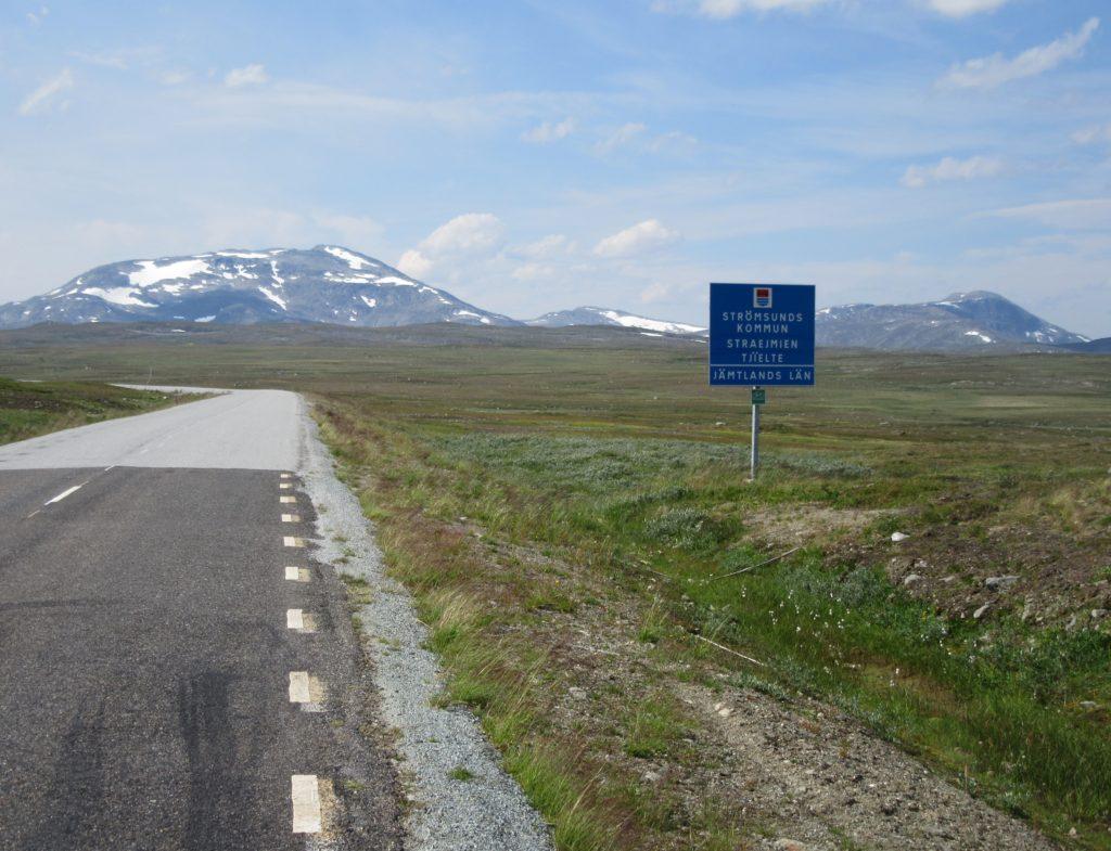 Grandes étendues Suède Laponie