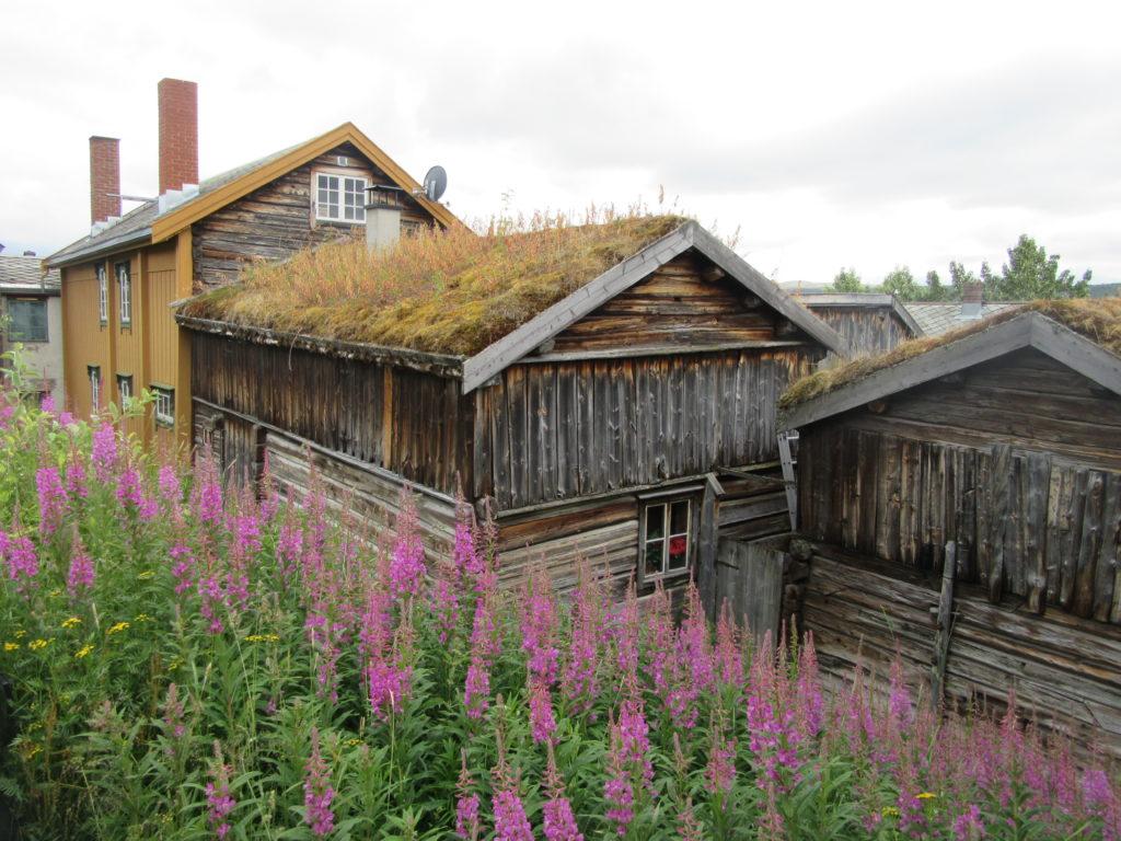 Maisons en bois Norvège Roros