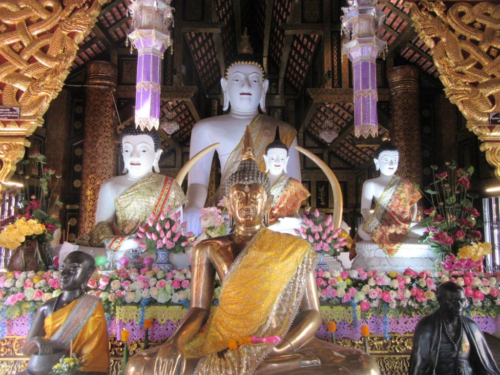 Temple bouddhiste Chiang Mai Thailande