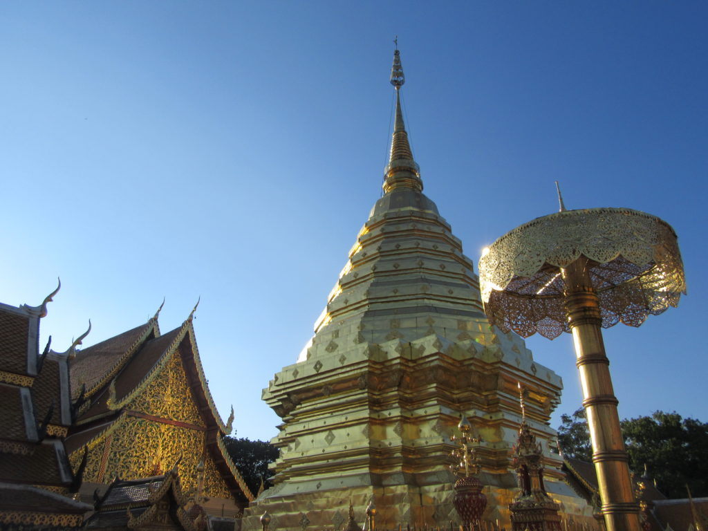 Temple de Doi Suthep Chiang Mai