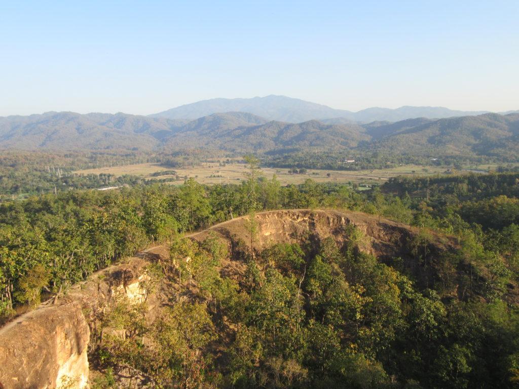 Canyon de Pai en thailande