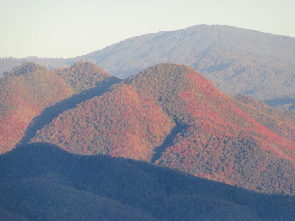 Montagnes autour de Pai