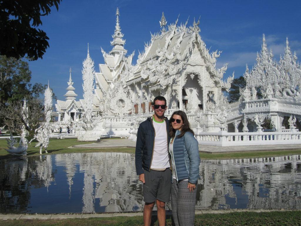 Wat Rong Khun white temple Chiang Rai Thailande