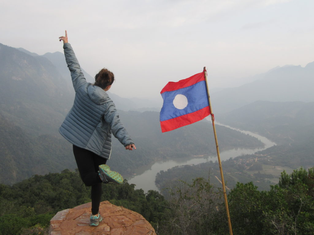 view point Nong Khiaw Laos