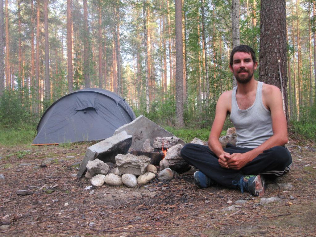 Bivouac sauvage Scandinavie Finlande