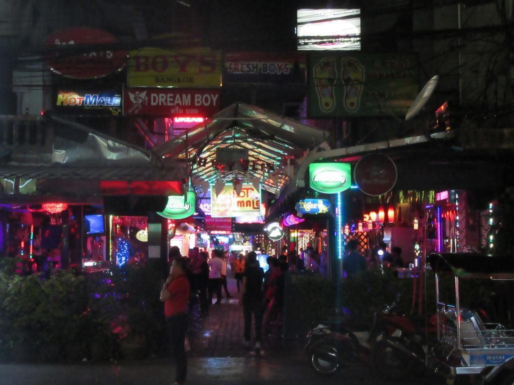 Patpong Bangkok thailande tourisme sexuel
