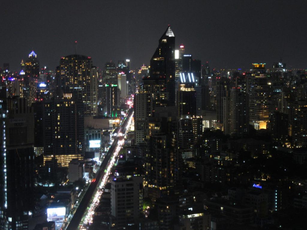 Octave rooftop Bangkok Thailande