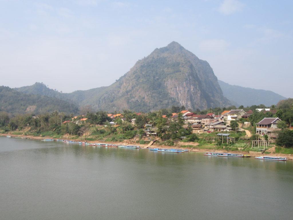 Nong Khiaw Laos sauvage montagne view point