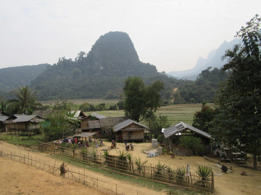 village de Ban na Laos Muang Ngoy