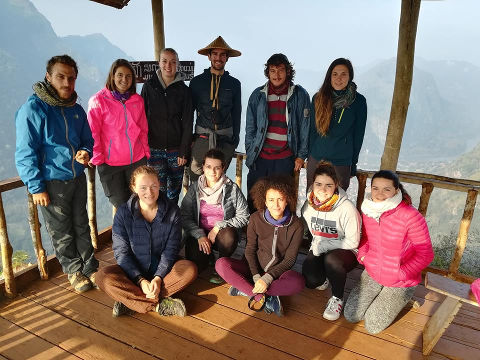 Nong Khiaw view point Laos