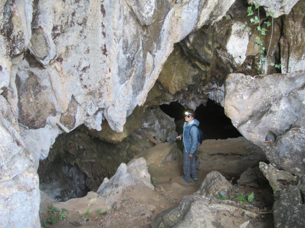 grotte karstique Laos Vang Vieng