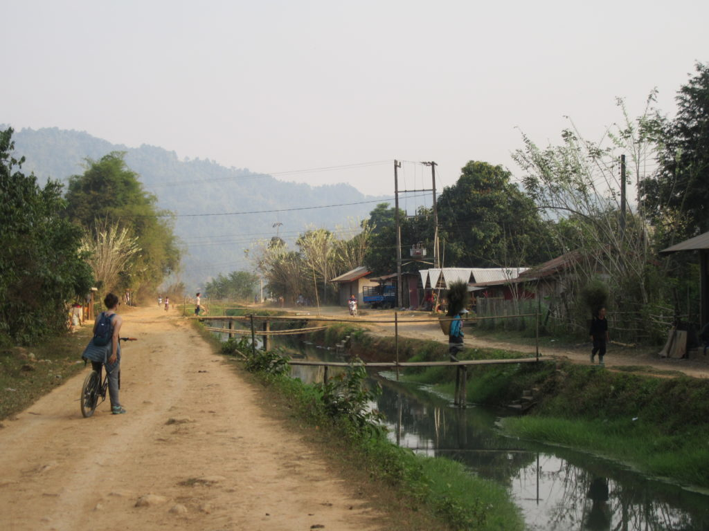 Randonnée à vélo Vang Vieng Laos