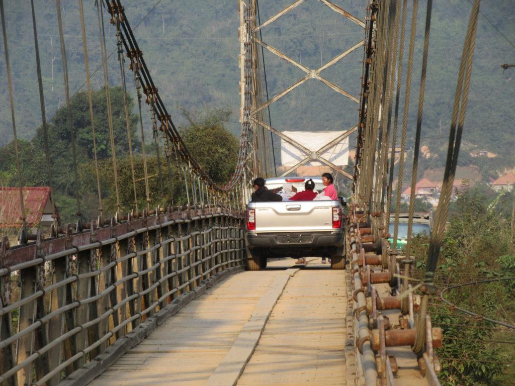 Vang Vieng transport Laos