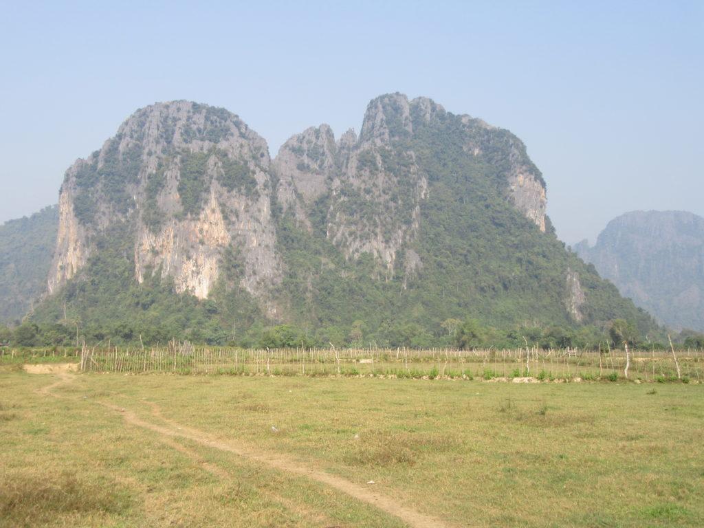 rando Laos Vang Vieng karst