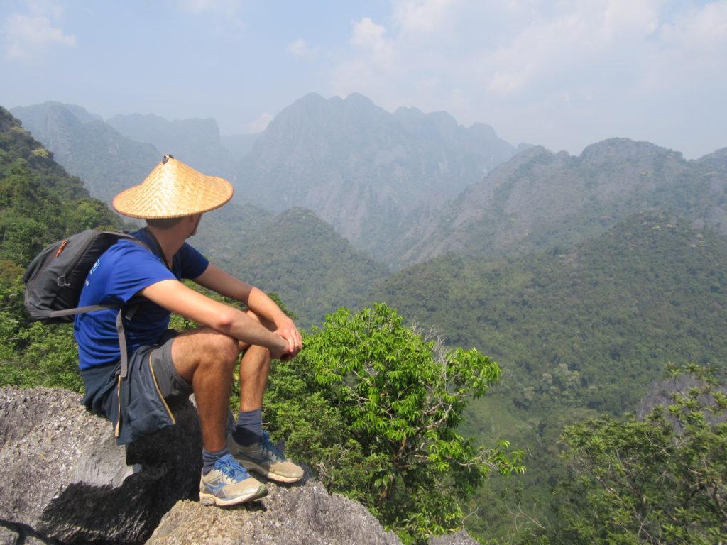 Vang Vieng Laos panorama
