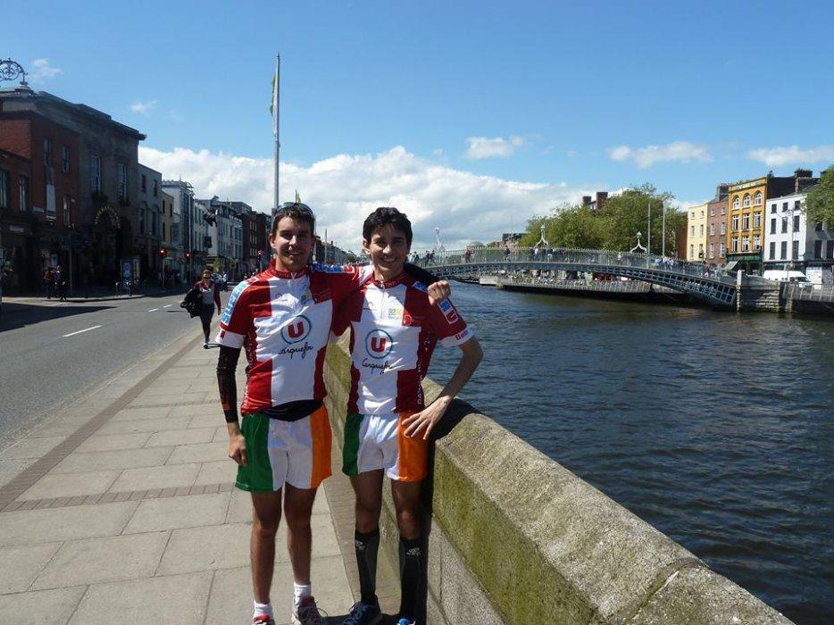 Voyage a vélo en Irlande Dublin