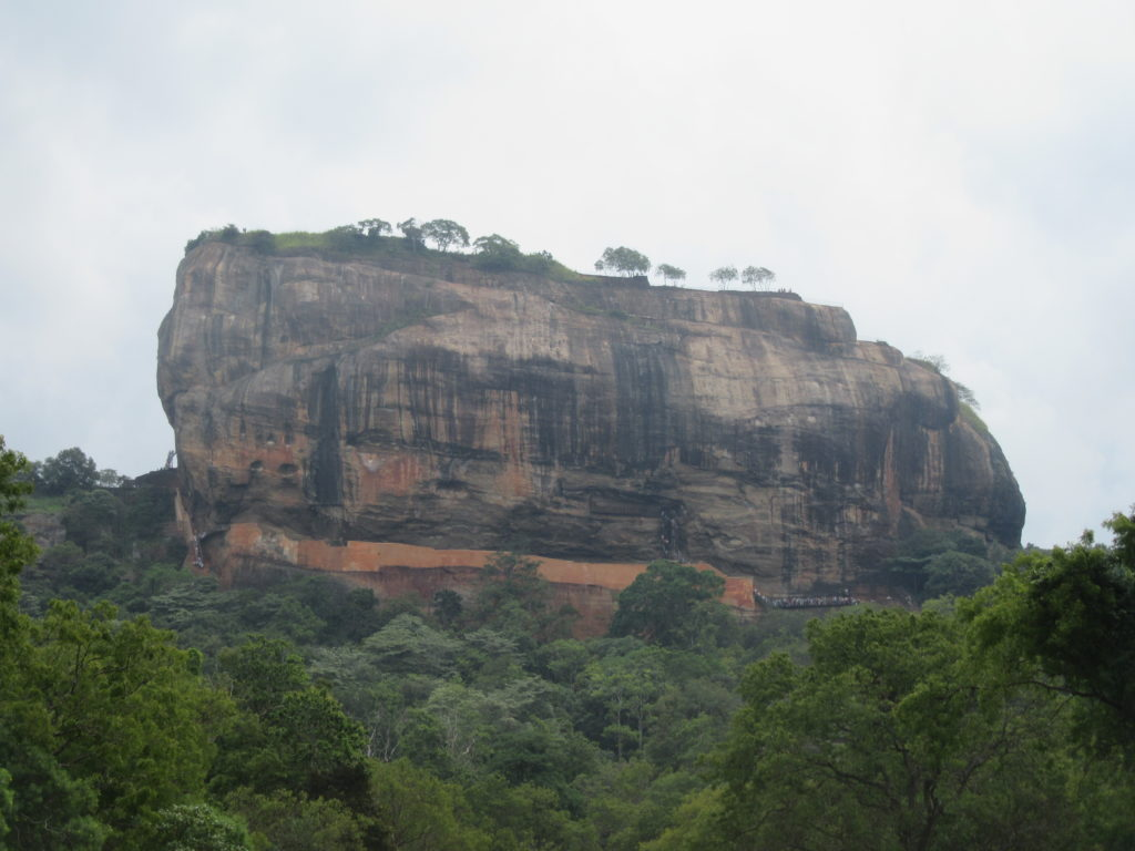Lion rock Sigiriya au Sri Lanka