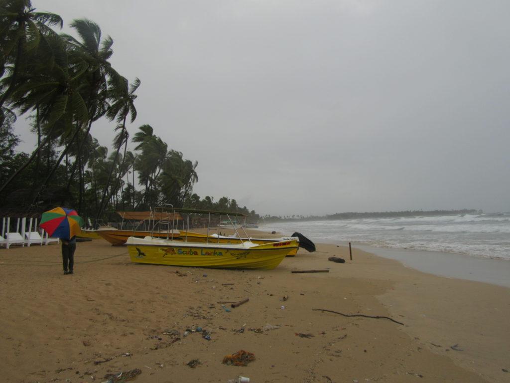 La côte est du Sri Lanka