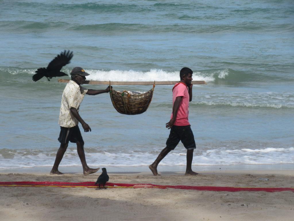 La côte est du Sri Lanka peu touristique Uppuveli et Trincomalee
