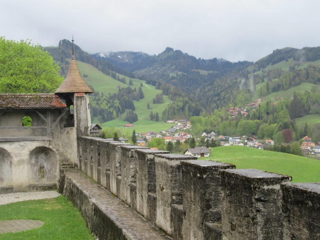 Parc national de Gruyères en Suisse