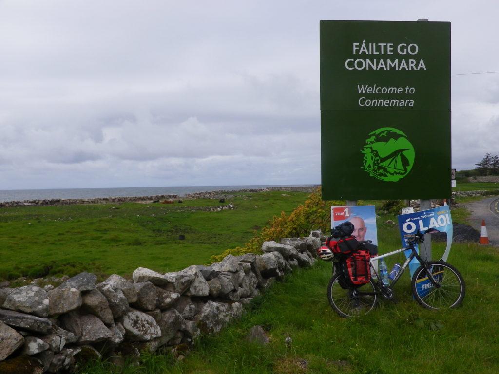Voyage à vélo Connemara Irlande
