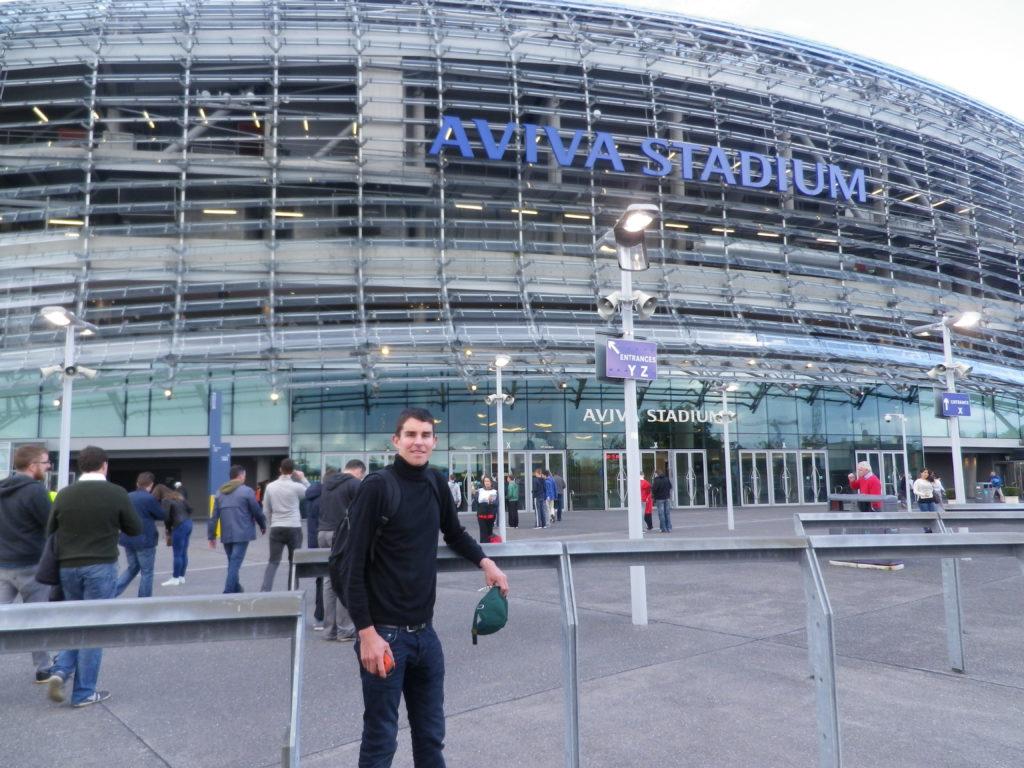 Stade Aviva Stadium Dublin Irlande