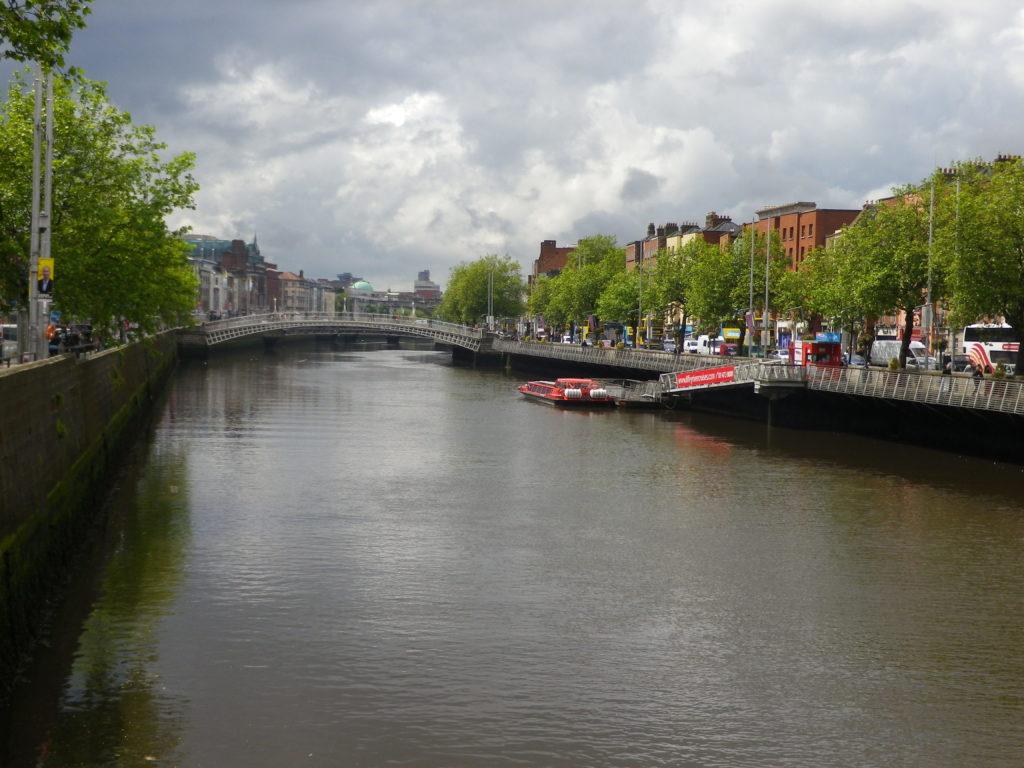 La Liffey à Dublin