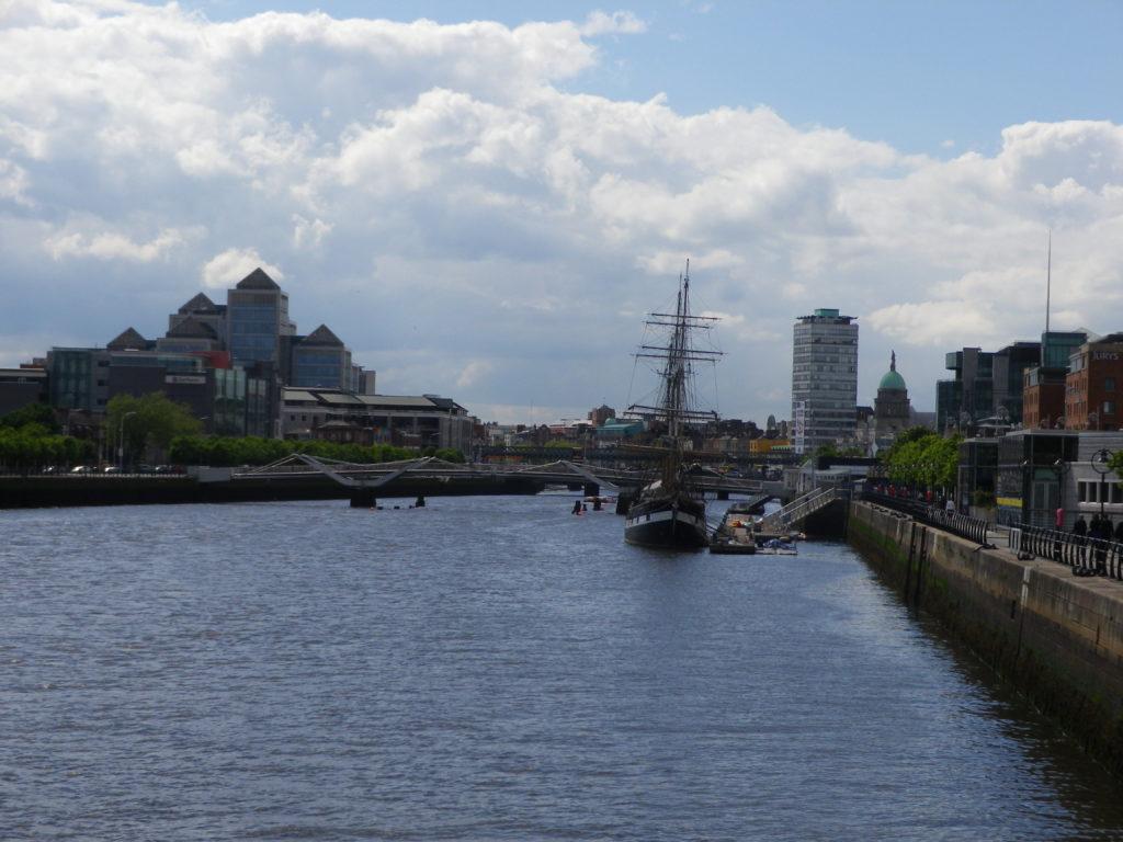 La Liffey a Dublin