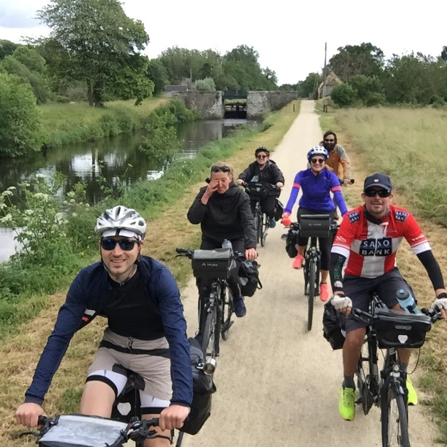 Voyage a vélo canal ille et rance bretagne