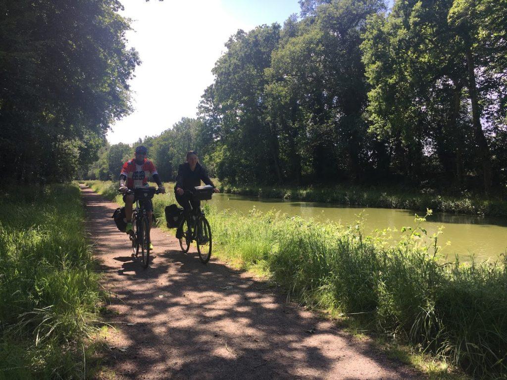 Voyage a vélo en Bretagne canal d'ille et rance
