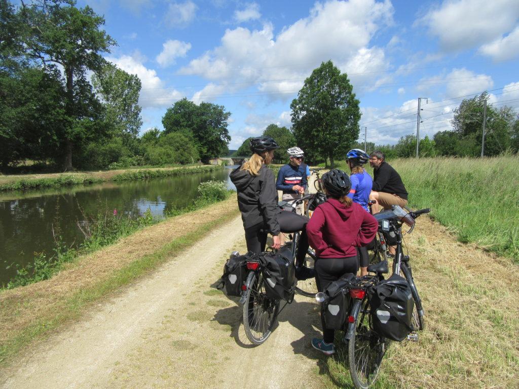 Canal d'ille et rance a vélo
