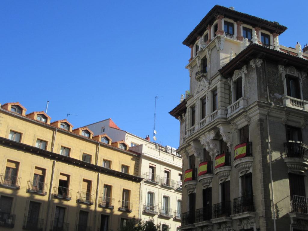 Madrid la capitale de l'espagne