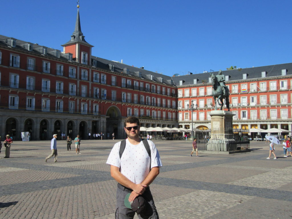 Plaza Mayor Tourisme à Madrid city trip entre amis