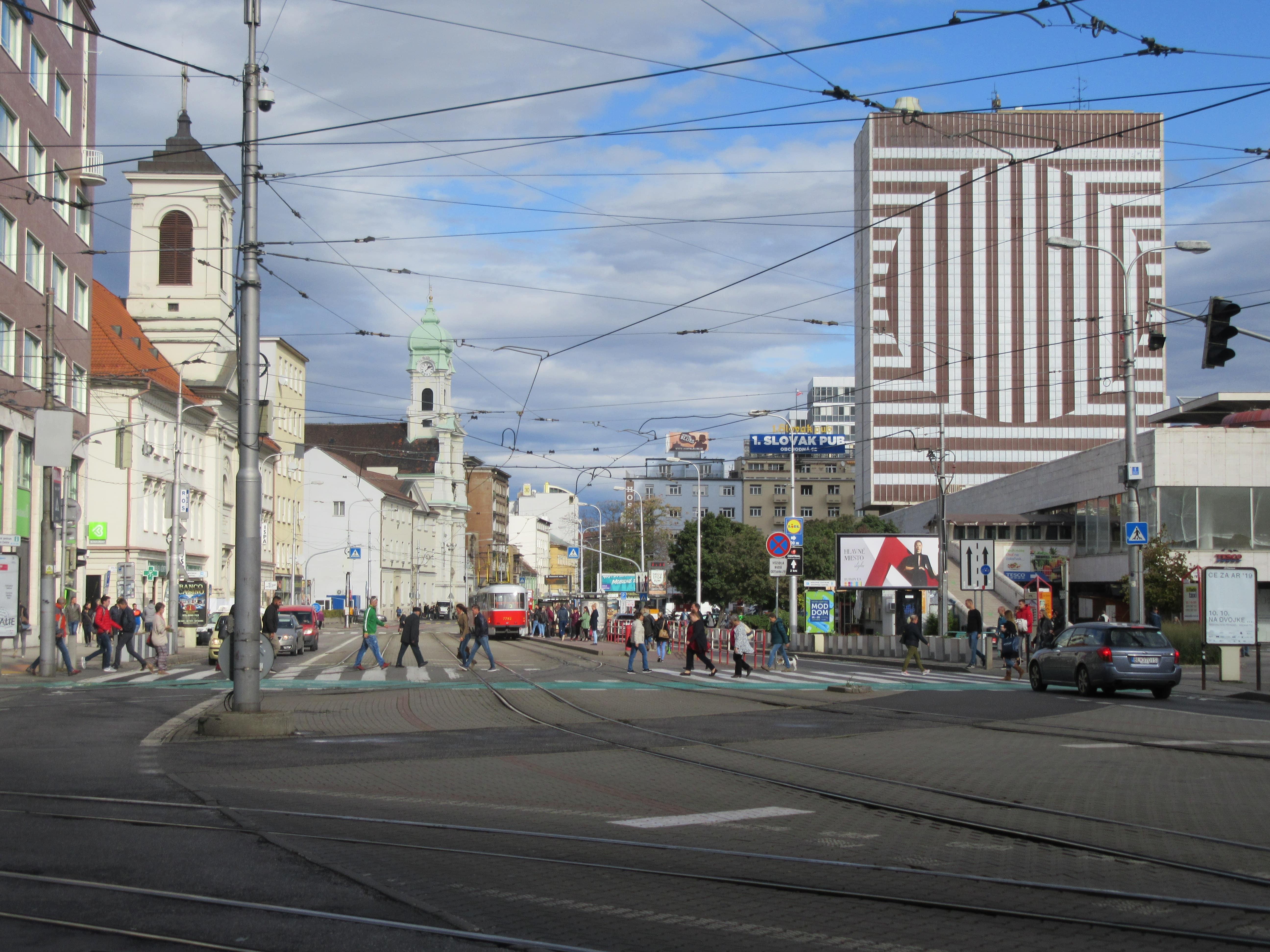 Bratislava dans le centre-ville