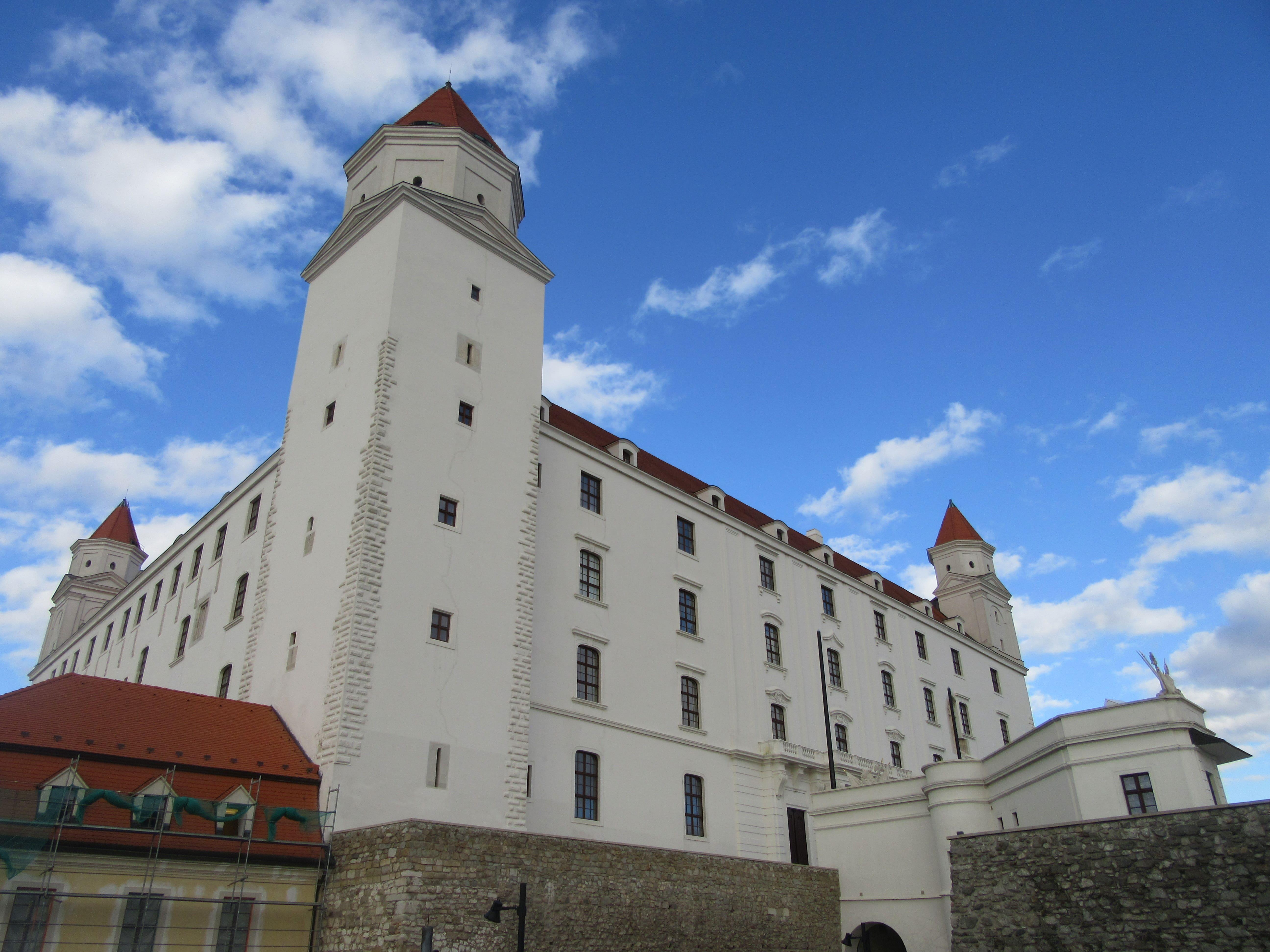 voyage Bratislava chateau
