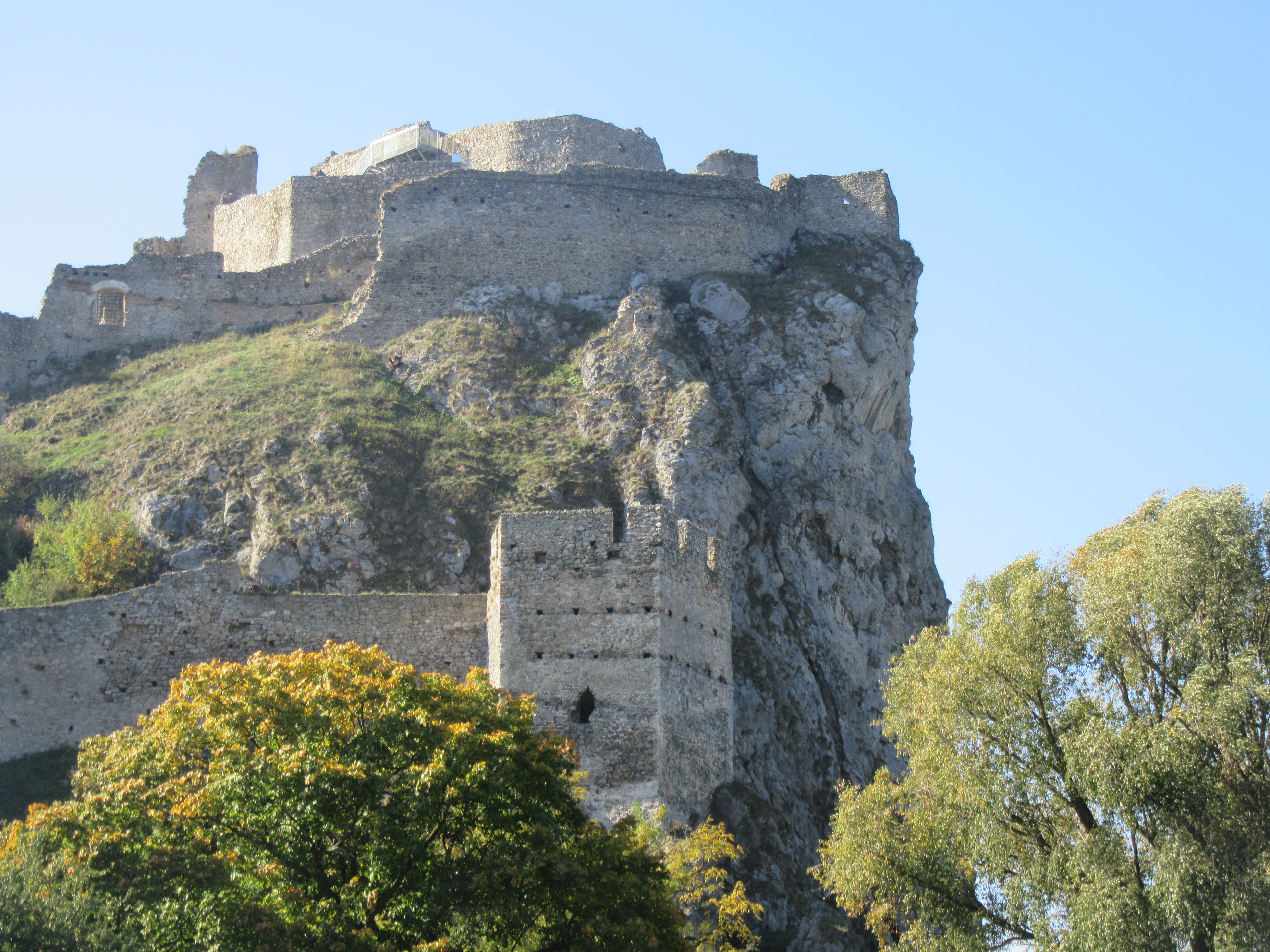 Château de Devin en Slovaquie