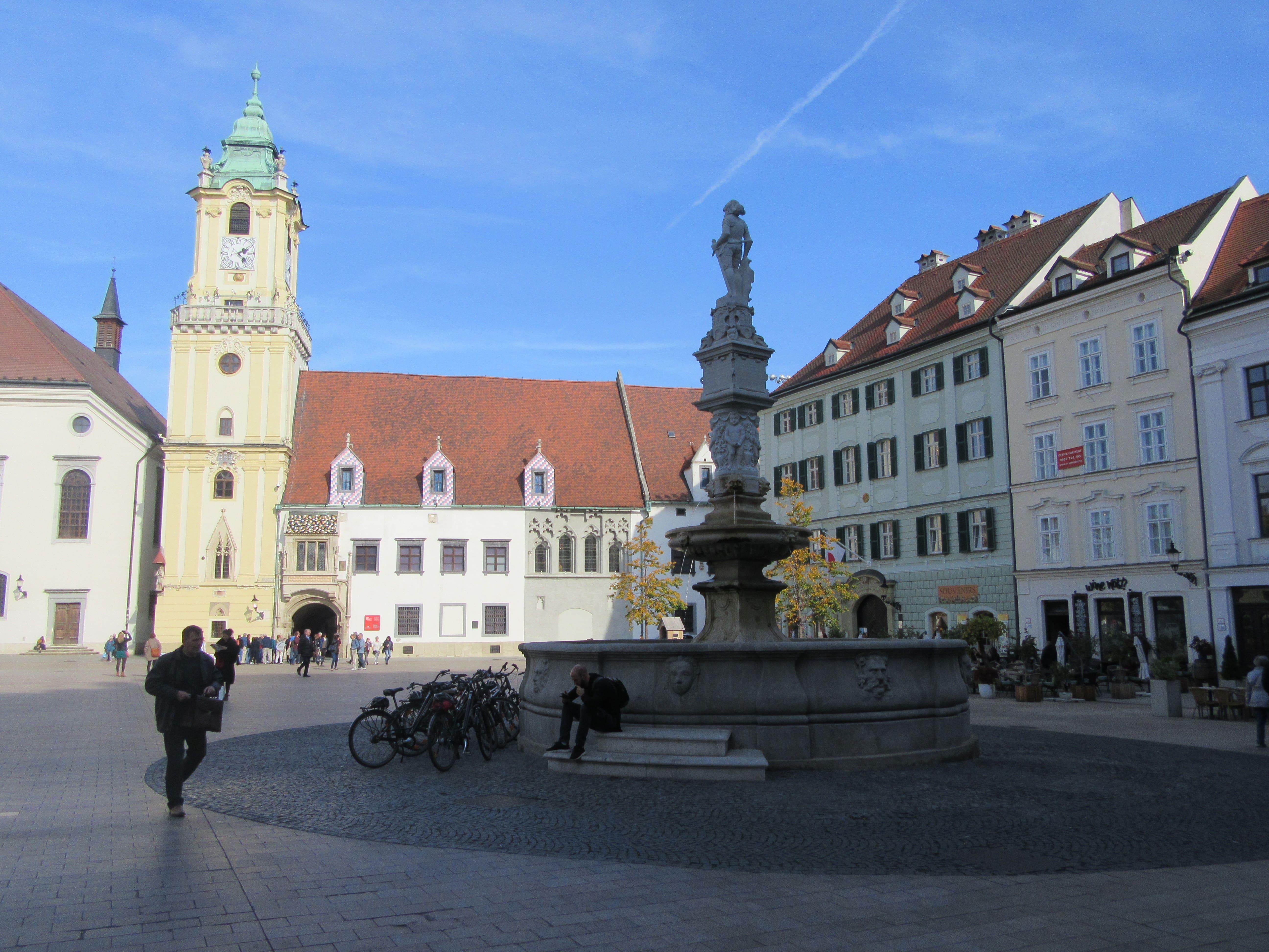 Hlavné namestie Bratislava vieille ville