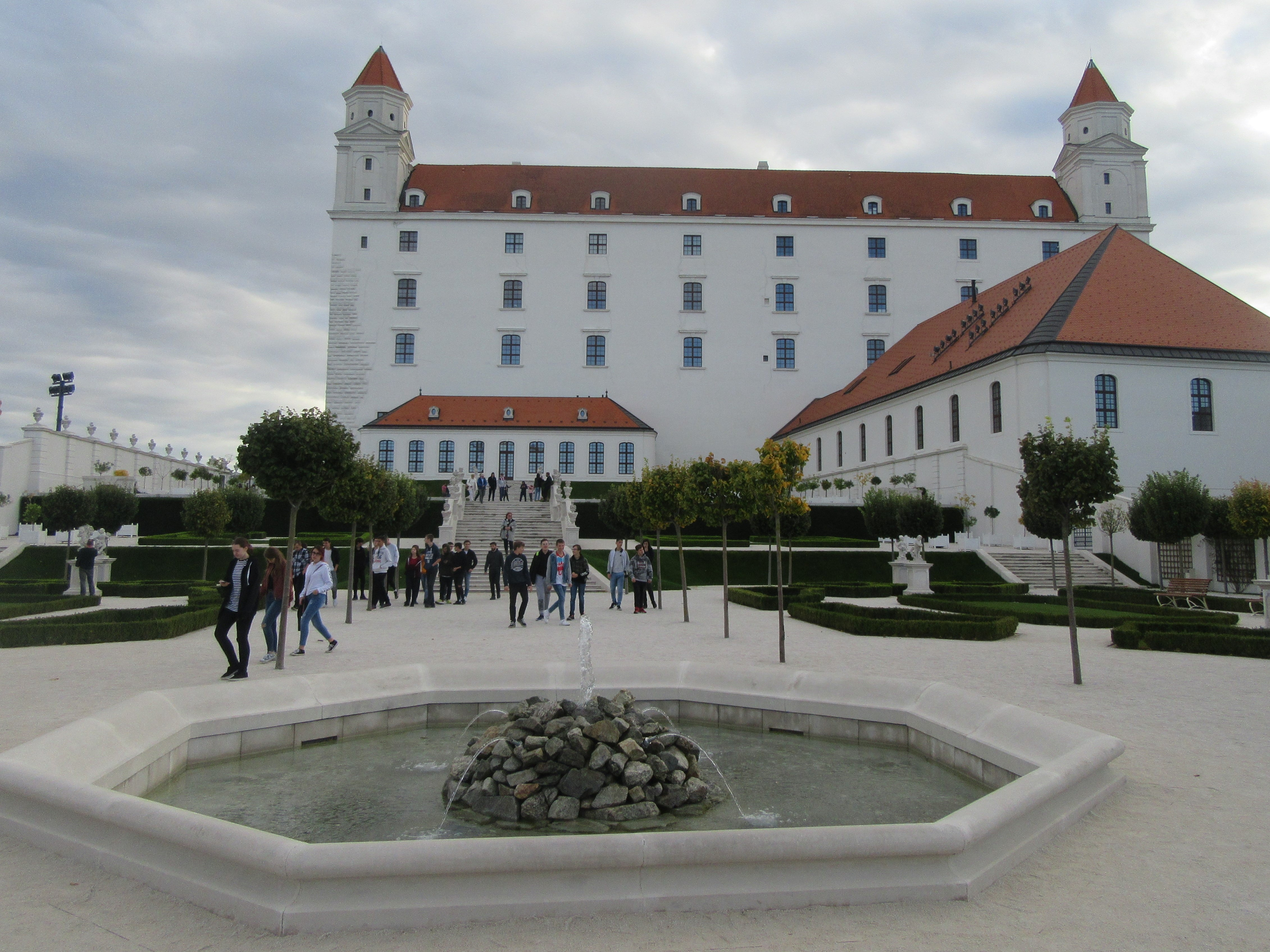 Bratislava hrad chateau