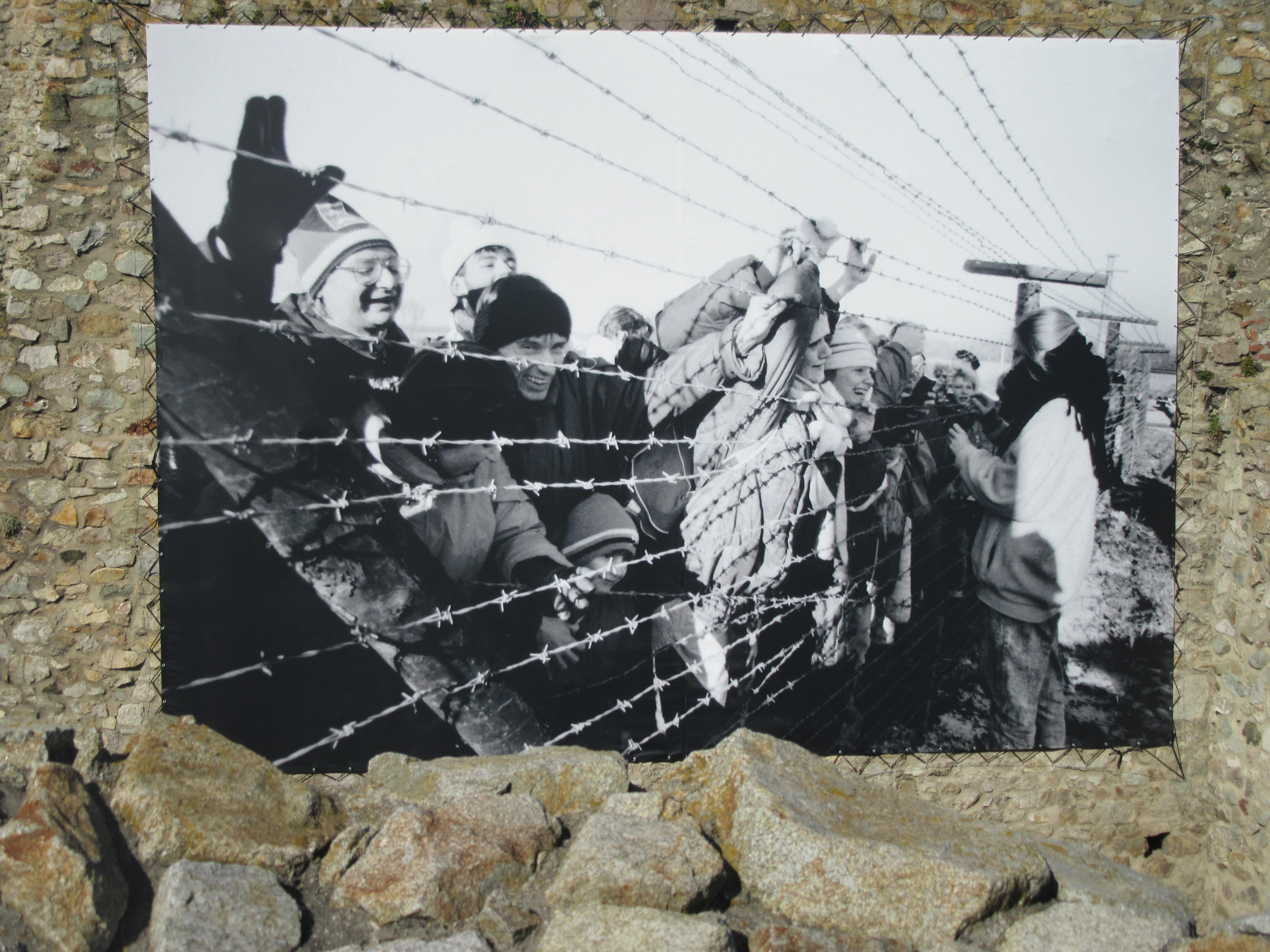 le rideau de fer en Slovaquie Devin