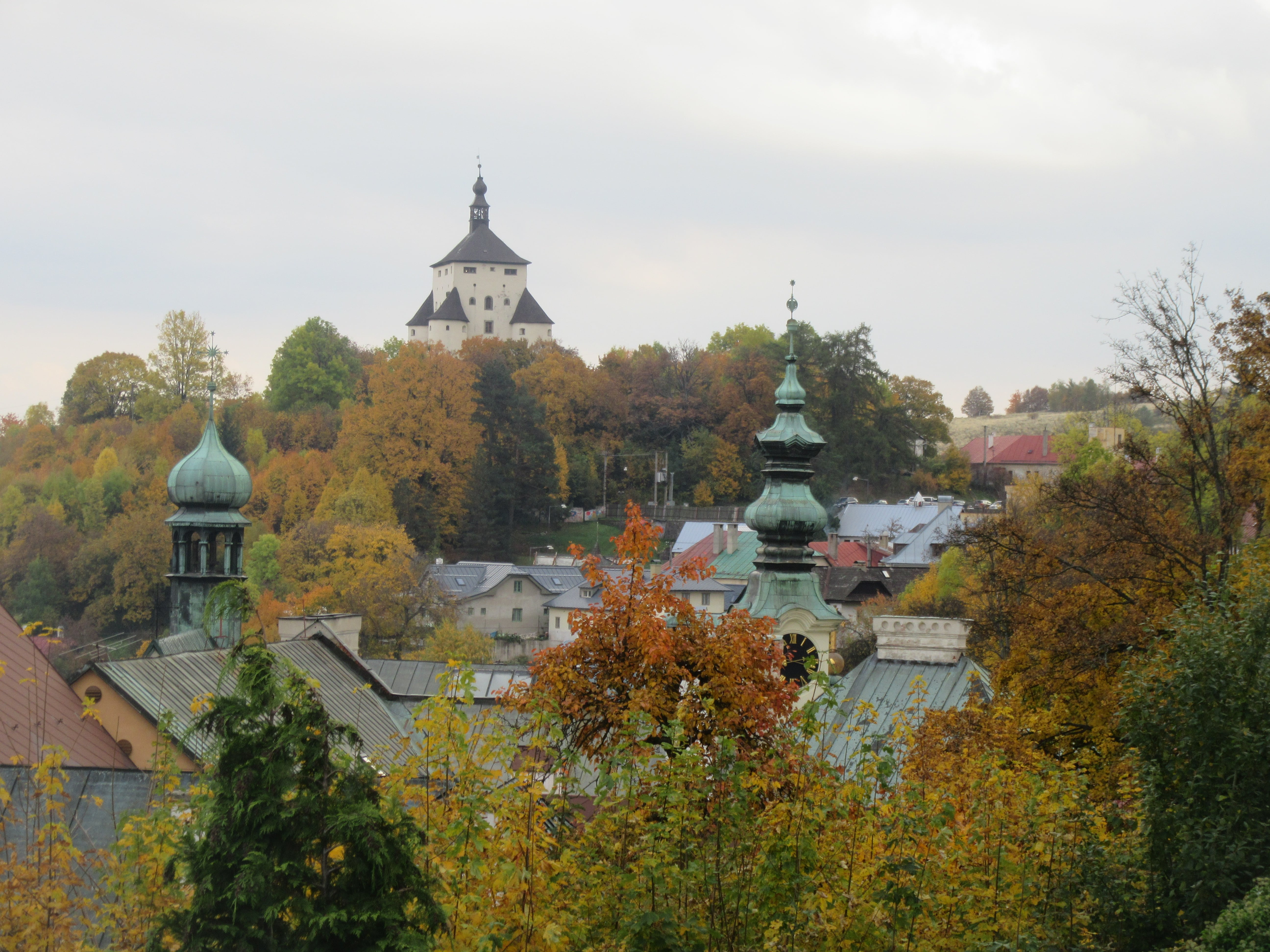 Visite de Banska Stiavnica en Slovaquie
