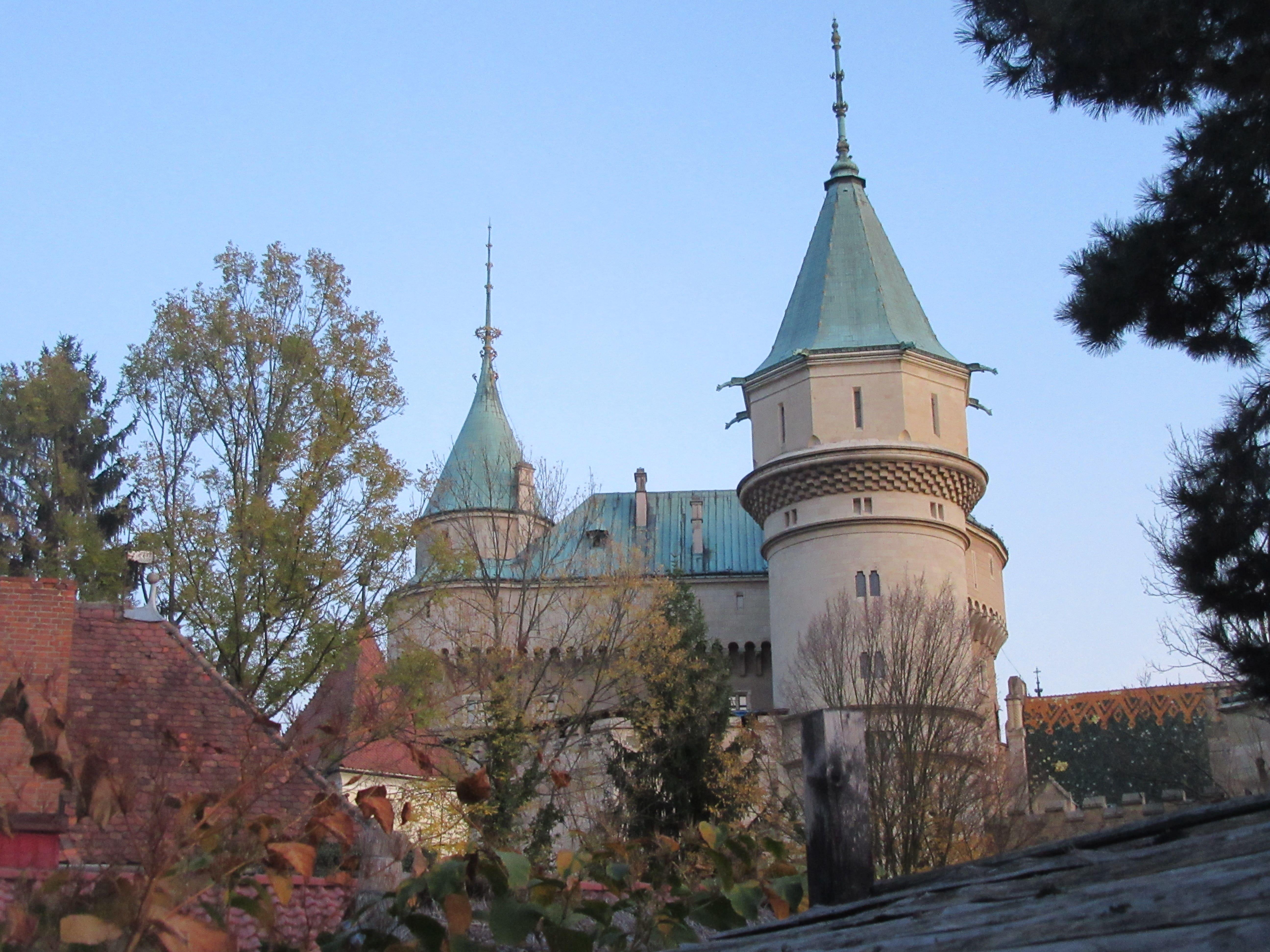 visite chateau de Bojnice en Slovaquie