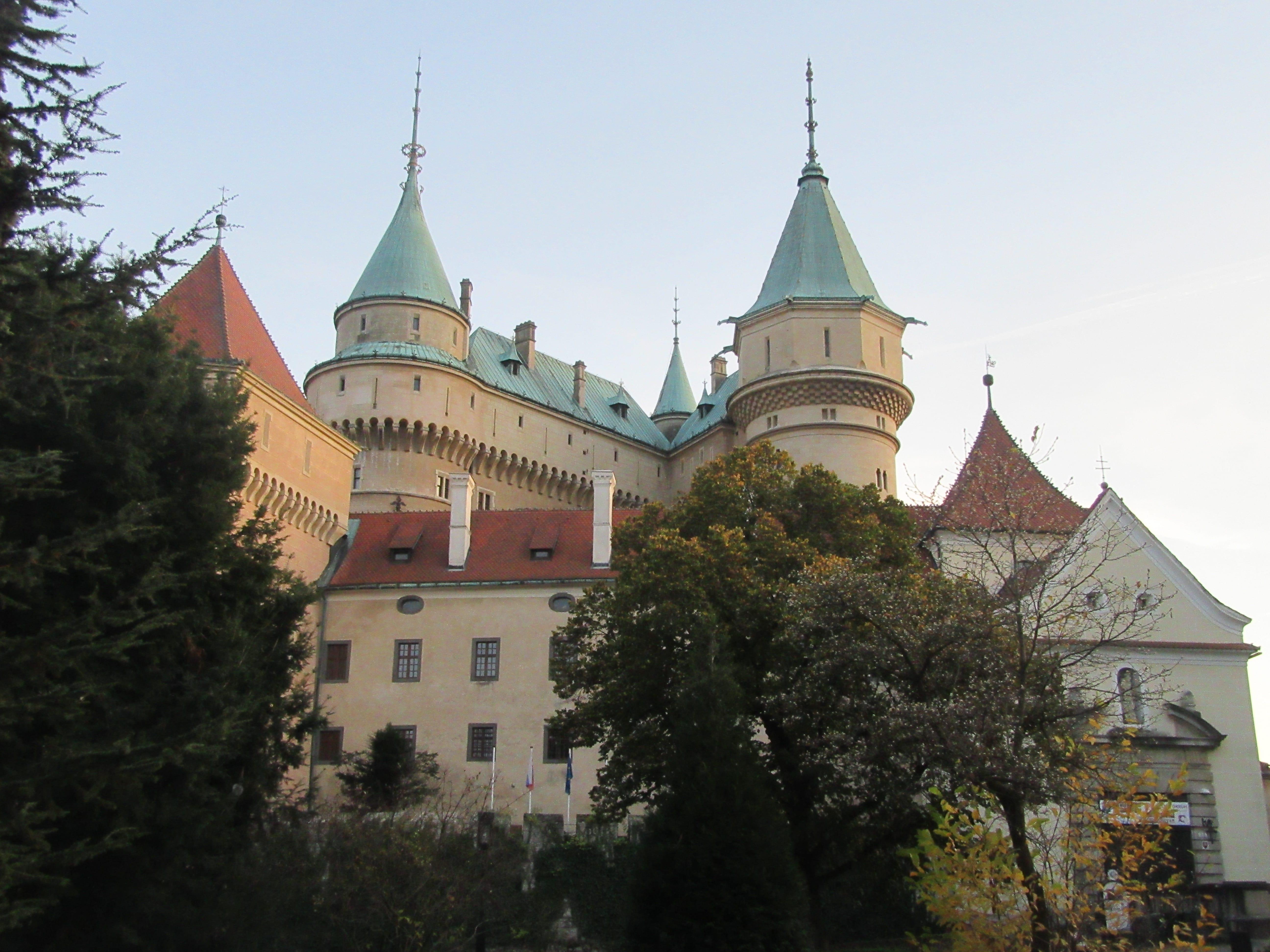 chateau de Bojnice en Slovaquie