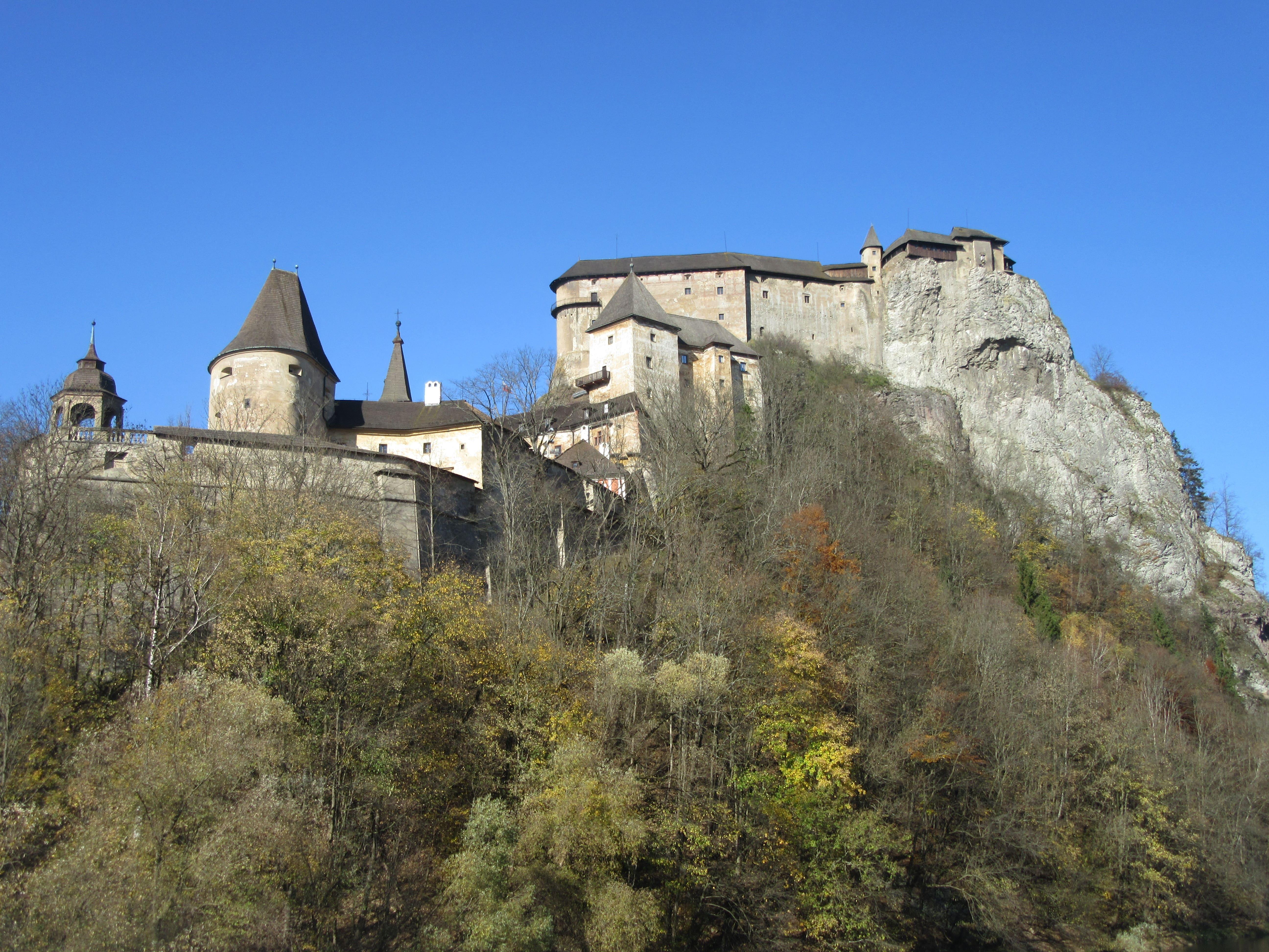 Oravski hrad Slovaquie chateau