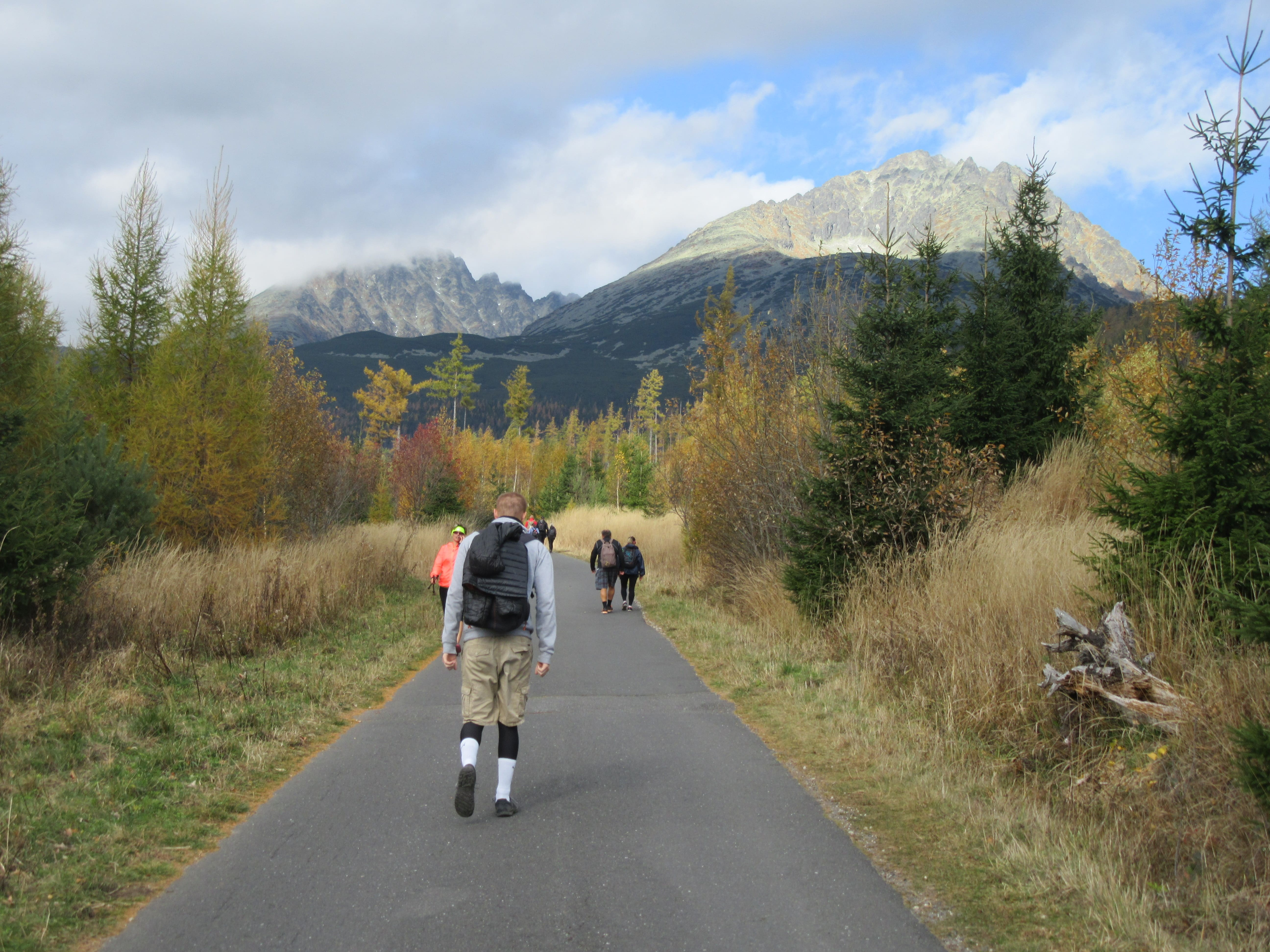 randonnée dans les hautes tatras en Slovaquie