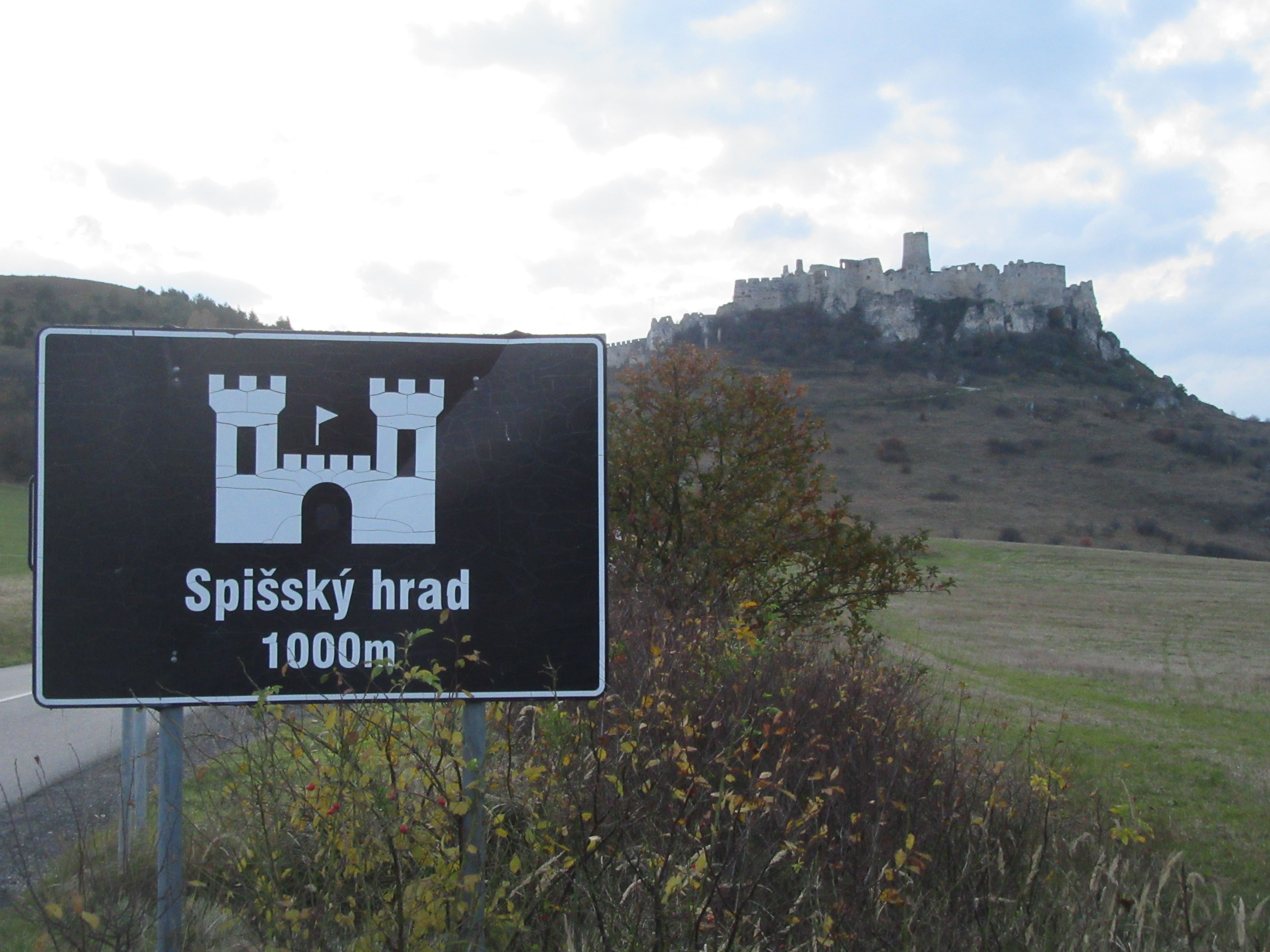 chateau de Spissky en Slovaquie