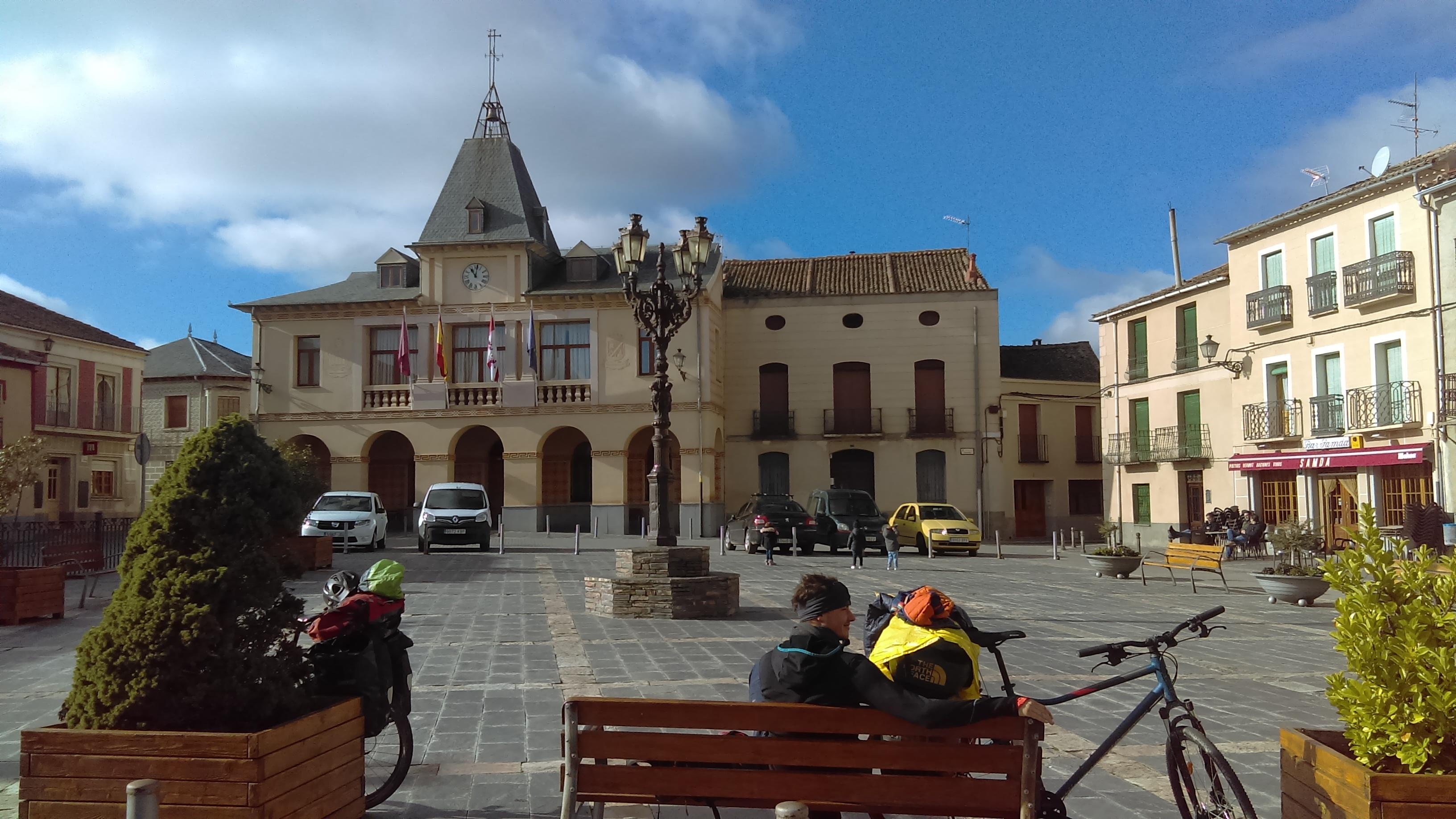 Le village de Bernardos en Espagne