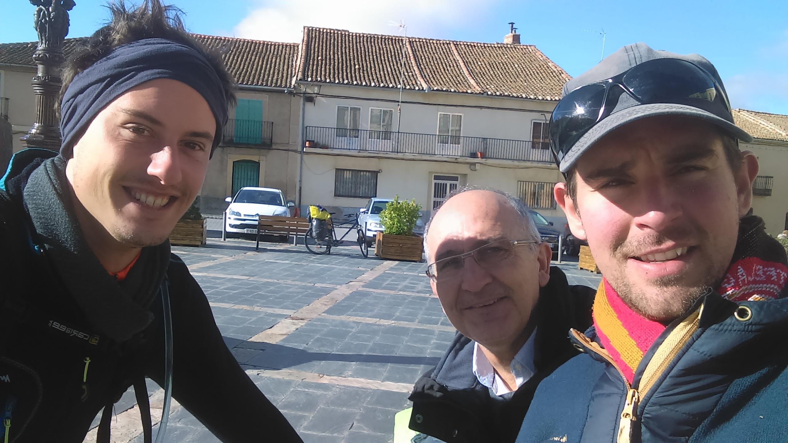Voyage a vélo en Espagne - rencontres