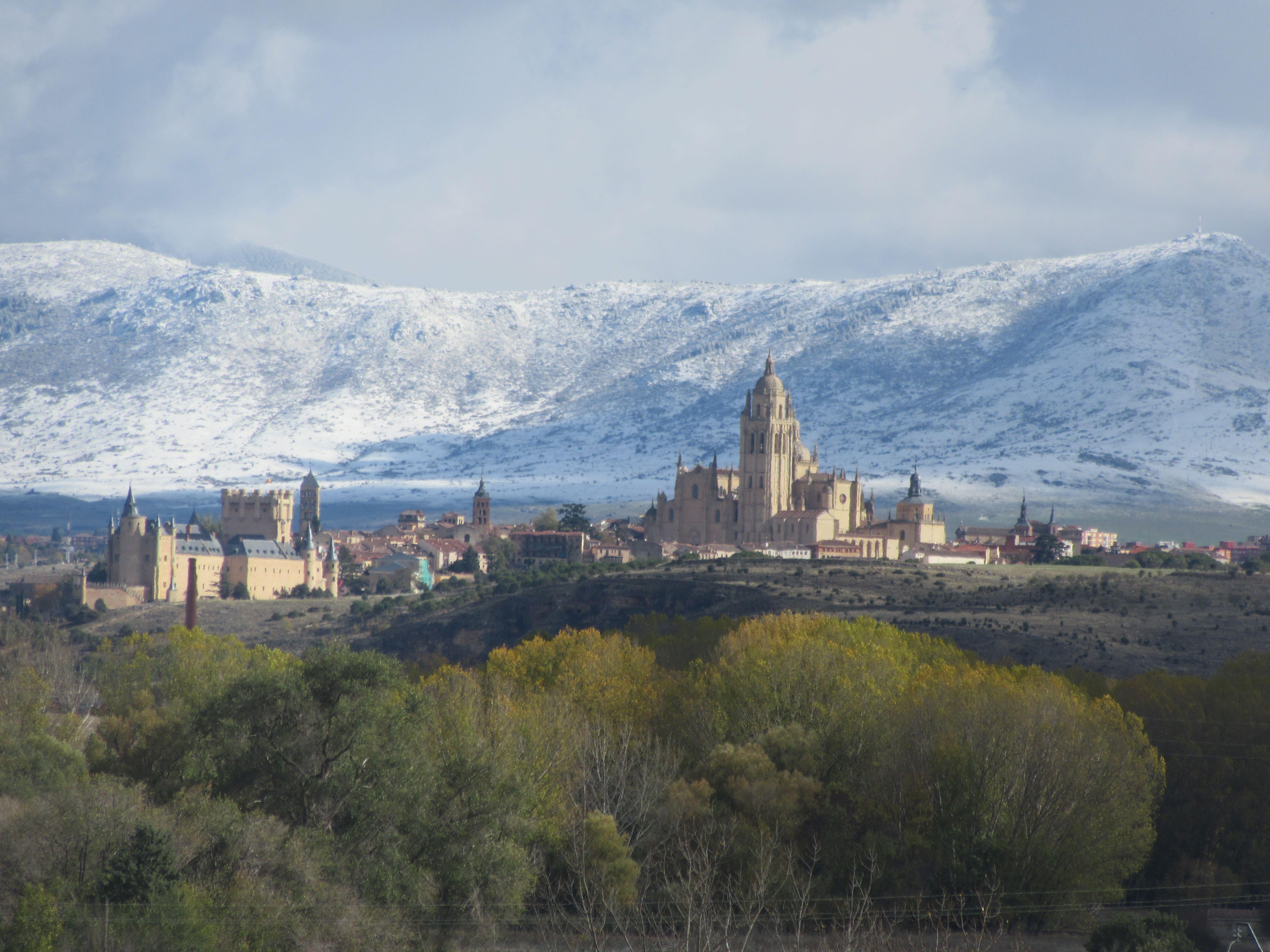 La ville de Ségovia en Espagne