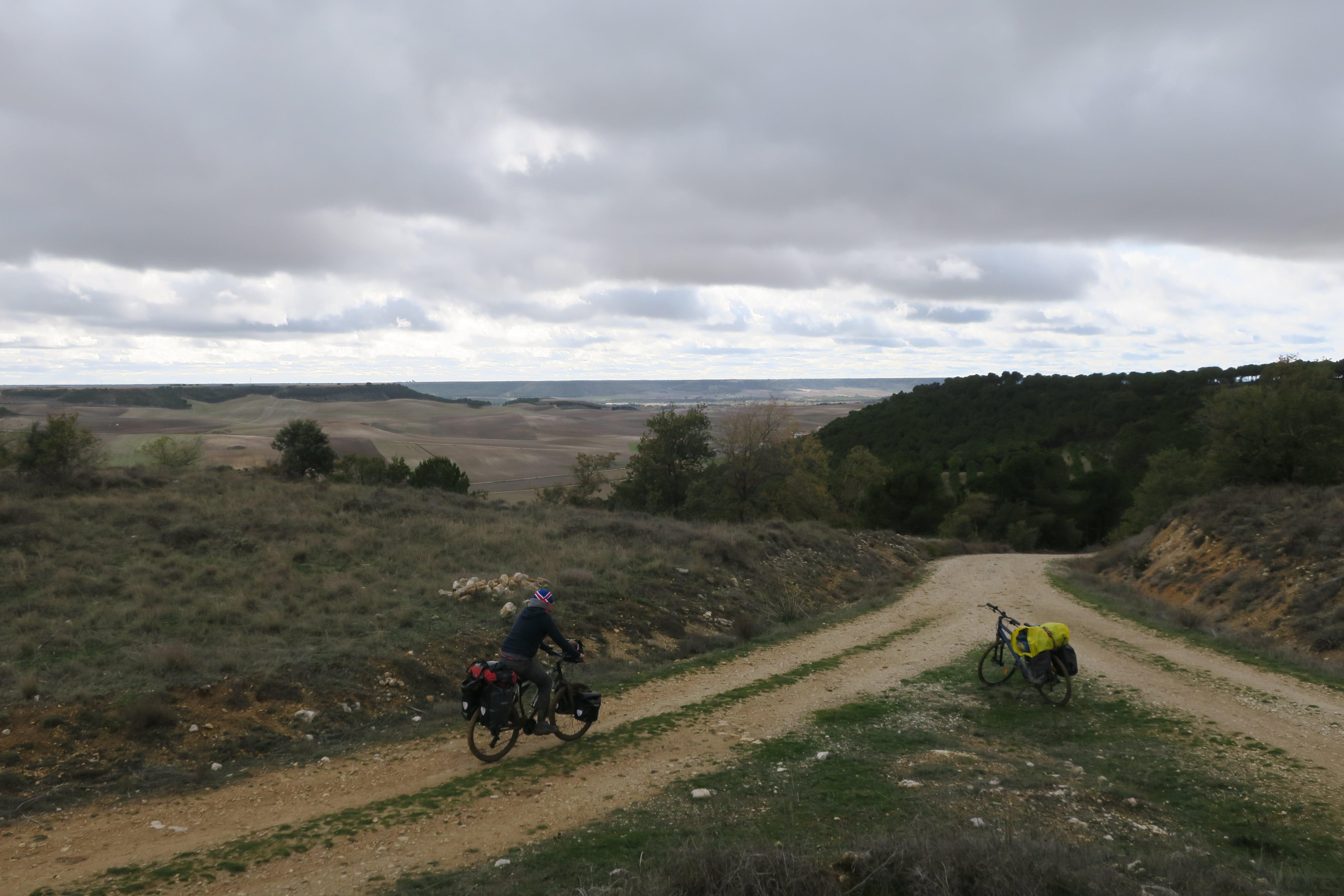 Voyage a vélo en Espagne en hiver